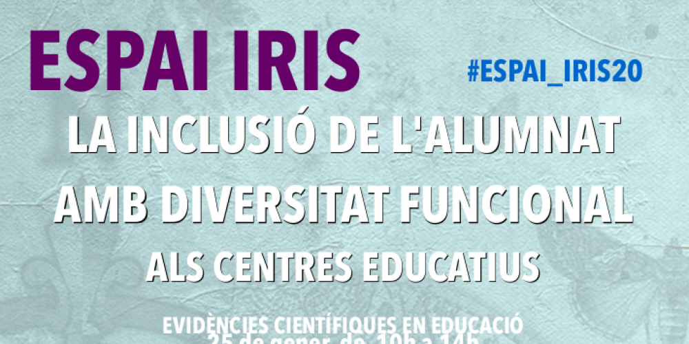 cartel espai iris